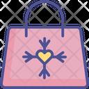 Snowflake Tote Bag Hand Bag Icon