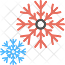 Snowflakes Ice Crystal Icon
