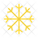 Cold Flake Ice Icon