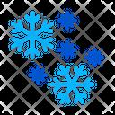 Snow Flakes Iceberg Icon