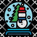 Christmas Globe Holiday Icon