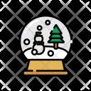 Snow Globe Crystalball Icon