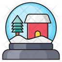 Snowglobe Christmas Party Icon