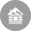 House Snow Icon