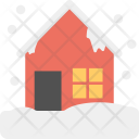 Snowy House Winter Icon