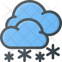 Snowing Snow Snowy Icon