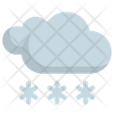 Snow Weather Forecast Icon