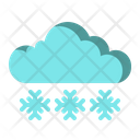 Snowflake Snowing Weather Icon