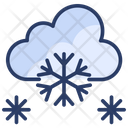 Cloud Snow Snowing Icon