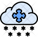 Snowing Weather Snow Icon