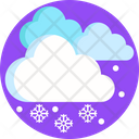 Snow Snowflakes Cloud Icon