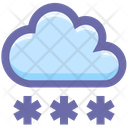 Cloud Decoration Stars Icon