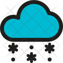 Snowing Winter Cloud Icon