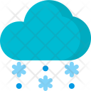 Snowing Snow Snowfall Icon