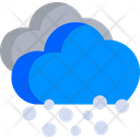 Snowing Snowfall Cloud Icon