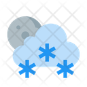 Cloud Forecast Moon Icon