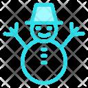 Snowman Snow Man Icon