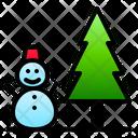 Snow Winter Snowman Icon
