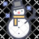Snowman Snow Christmas Icon