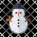 Snowman Snow Happy Icon