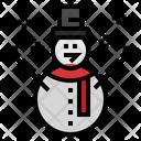 Snowman Snow Snow Man Icon