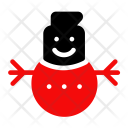 Snowman Christmas Snow Icon