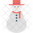 Snowman Christmas Snowman Snowperson Icon