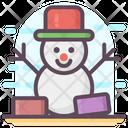 Snowman Winter Snowman Snowman Design Icon