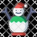 Decoration Snow Snowman Icon