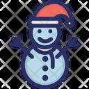 Man Snow Snowman Icon