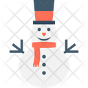 Snowman Winter Snowman Christmas Snowman Icon