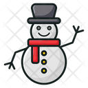 Snowman Winter Snowman Snowman Design Icon