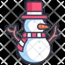 Christmas Snowman Winter Icon