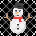 Snowman Happy Christmas Icon