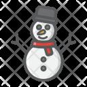 Snowman Happy Xmas Icon