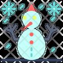 Snowman Doll Snow Icon