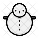 Snowman Winter Christmas Icon