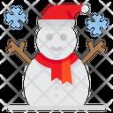 Snowman Xmas Christmas Icon