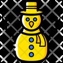 Christmas Snowman Xmas Icon