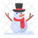 Snowman Snow Winter Icon