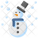 Snowman Xmas Winter Icon