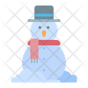 Snowman Snow Cold Icon