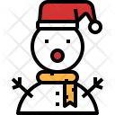 Snowman Decoration Toy Icon