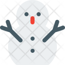 Snowman Sculpture Icon