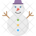 Snowman Cartoon Snow Icon