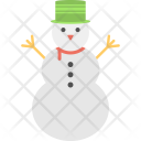 Snowman Cartoon Snow Icon