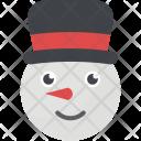 Festive Christmas Snowmans Icon