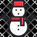 Christmas Snowman Snow Icon