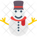 Snowman Christmas Snowman Winter Icon