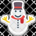 Snowman Christmas Snowman Winter Icon